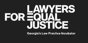 Lawyers for Equal Justice logo